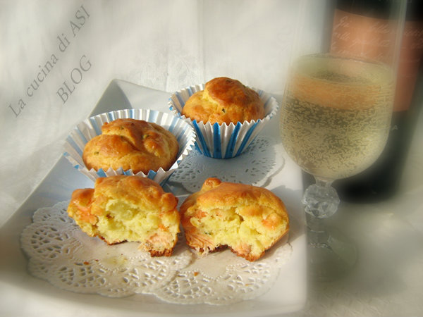 i Muffin salmone La cucina di ASI