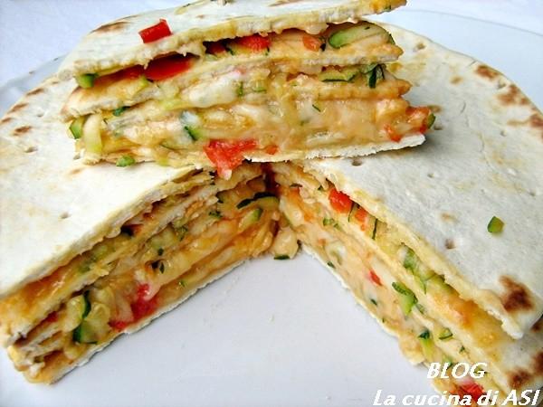 TORTA DI PIADINE Ricetta salata