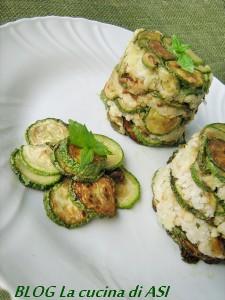 timballi di zucchine alla scapece La cucina di ASI