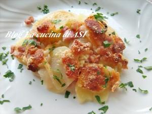 tortino patate cipolle pancetta birra La cucina di ASI
