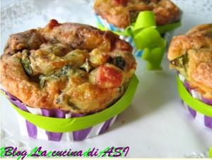 Tortine salate con zucchine La cucina di ASI