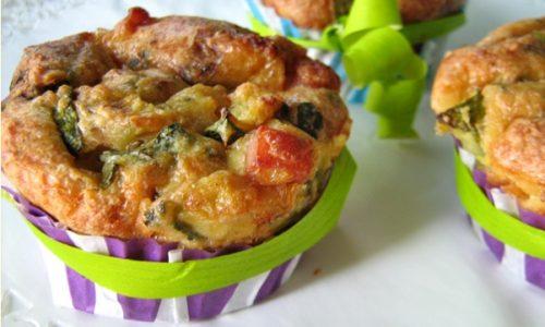 TORTINE SALATE ALLE ZUCCHINE Ricetta antipasto/finger food