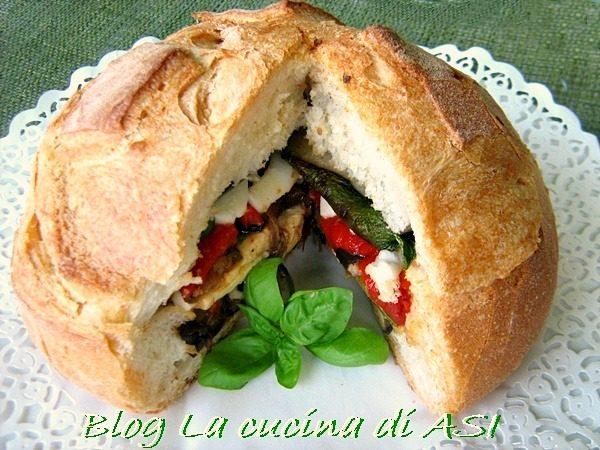 PANE RIPIENO Ricetta antipasti/finger food