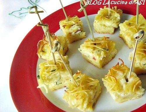 PASTA FREDDA AL FORNO Ricetta primo piatto finger food