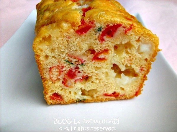 CAKE SALATO CON DATTERINI E SCAMORZA Ricetta torta salata