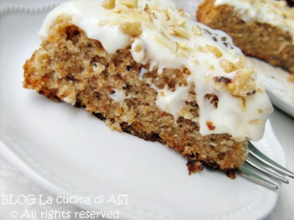 carrot cake La cucina di ASI