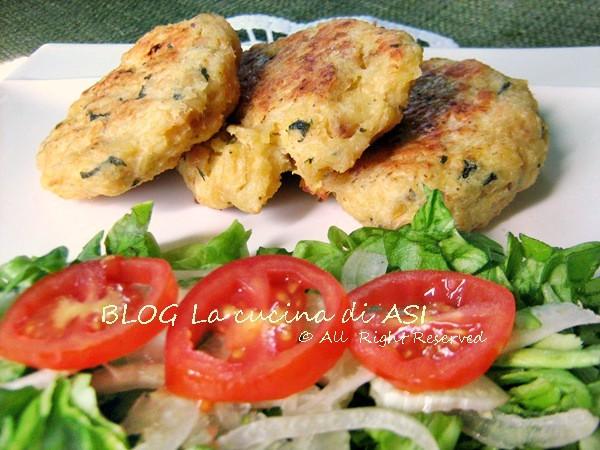 gallette di pollo e basilico