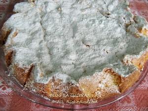 torta di Santiago La cucina di ASI