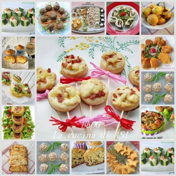 Finger food salato ricette antipasti for Antipasti ricette italiane