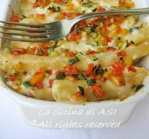Timballo di pasta alle verdure La cucina di ASI-crop