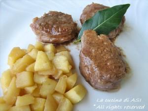 filetto di maiale con le mele La cucina di ASI
