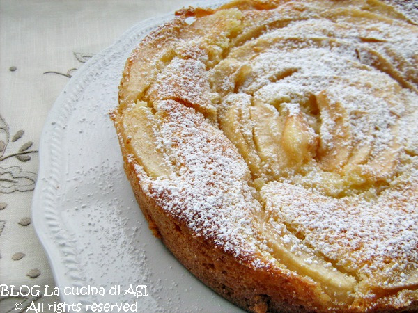 torta di pere La cucina di ASI