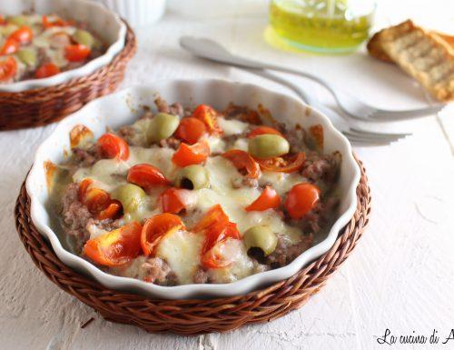 Pizza di carne-Ricetta secondo di carne