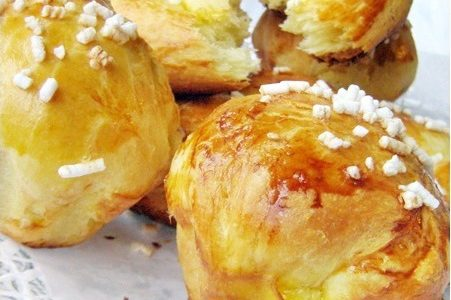 BRIOCHES PARIGINE Ricetta dolce lievitato