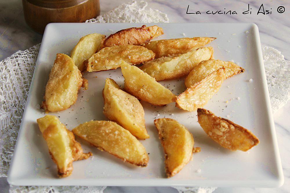 Patate al forno al parmigiano