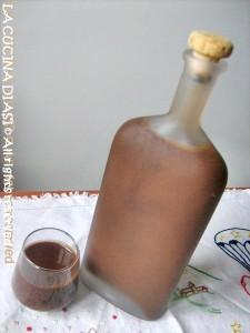 liquore Crema di liquirizia La cucina di ASI