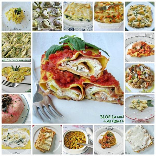 Raccolta ricette primi piatti la cucina di asi for Primi piatti di pesce ricette