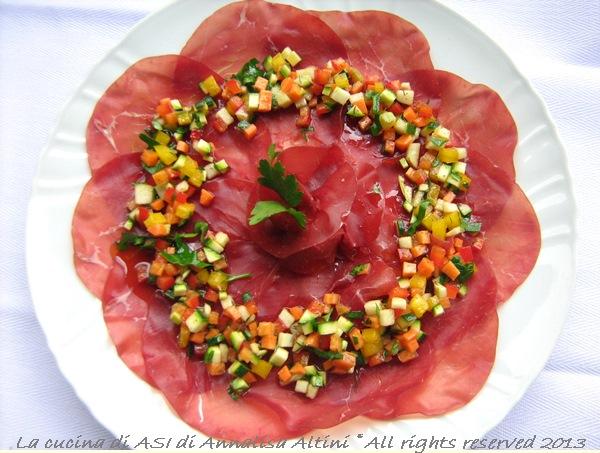 Carpaccio di bresaola- Ricetta per un antipasto appetitoso