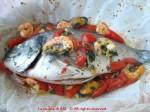 orata al cartoccio con frutti di mare La cucina di ASI