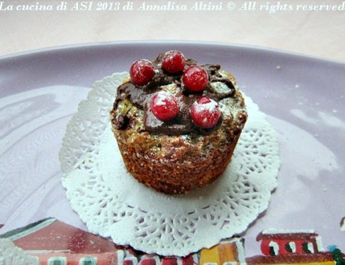 TORTINI DI PANETTONE Ricetta dolce