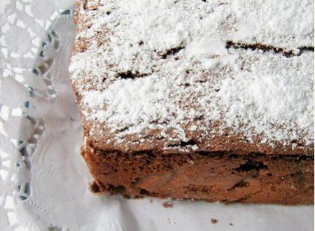 CAKE LIGHT AL CIOCCOLATO Ricetta dolce leggera