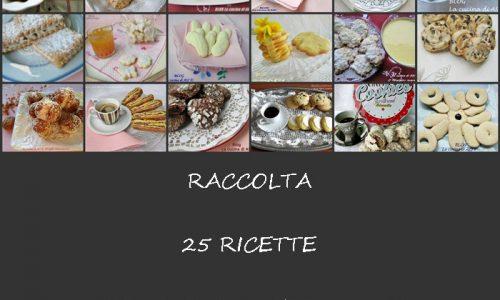 RACCOLTA RICETTE BISCOTTI