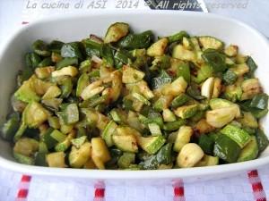 Ratatouille in verde peperoni zucchine sedano La cucina di ASI