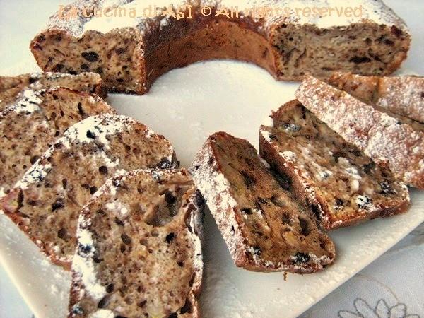 CHOCOLATE BANANA BREAD Ricetta dolce