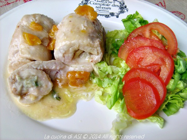 Involtini di tacchino con gorgonzola e noci ricetta secondo - Cucina fanpage secondi piatti ...