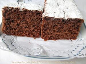 mattonella al cacao leggerissima La cucina di ASI