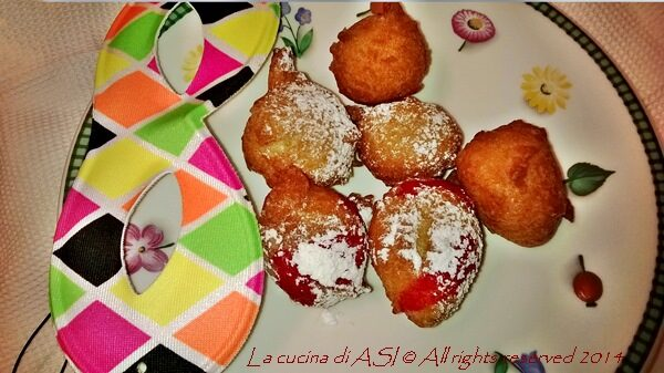 CASTAGNOLE  Ricetta dolce