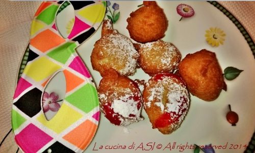 CASTAGNOLE  Ricetta dolce