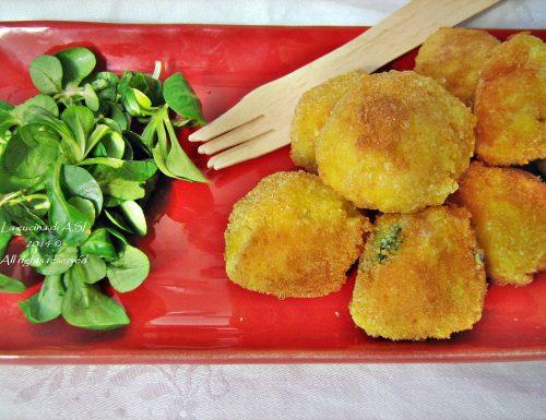 POLPETTE DI BACCALA' Ricetta secondo piatto di pesce