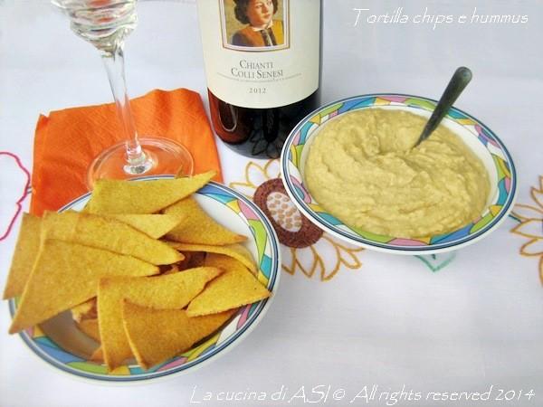 TORTILLA CHIPS E HUMMUS Ricette antipasto