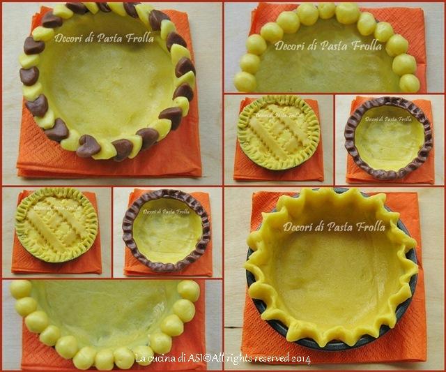 I decori per la pasta frolla ricette preparazioni con for Decori per piastrelle cucina