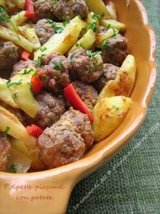 polpette e patate La cucina di ASI