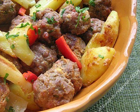 Polpette piccanti con patate