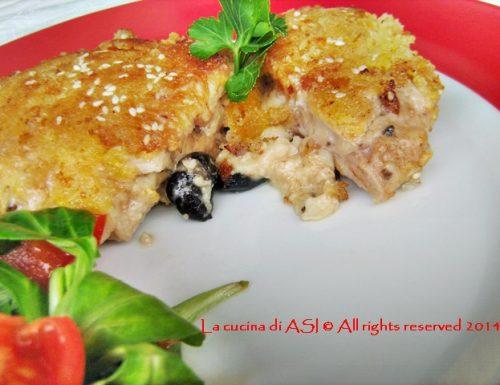 TASCHE DI MAIALE FARCITE Ricetta secondo piatto di carne