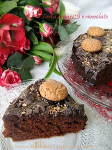 torta amaretti e cioccolato La cucina di ASI