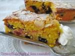 torta con frutti di bosco e mandorle La cucina di ASI