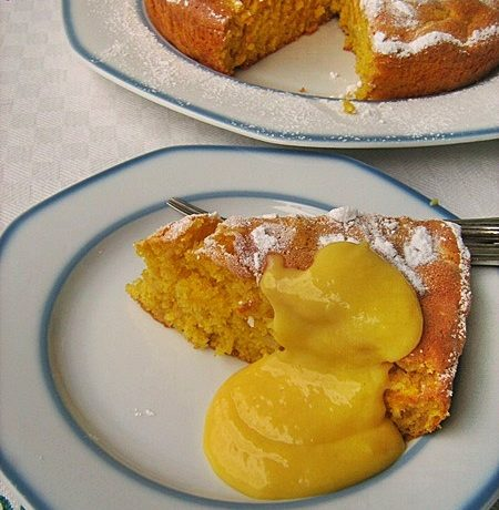 TORTA MARGHERITA CON MELE GRATTUGIATE Ricetta dolce senza burro