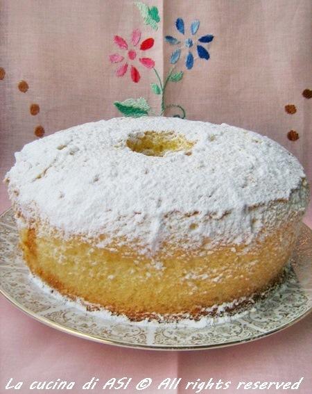 LA RICETTA PIU' LETTA DI SEMPRE …LA CHIFFON CAKE!