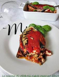 Melanzane parmigiana light La cucina di ASI