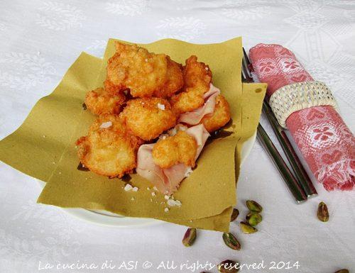 SGONFIOTTI DI CRESCENZA Ricetta fritti