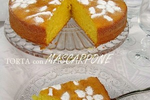TORTA CON MASCARPONE  Ricetta dolce