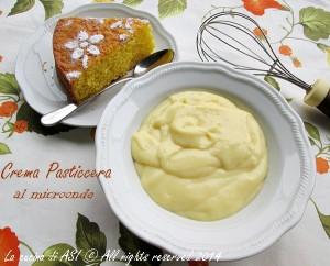 crema pasticcera fatta al microonde La cucina di ASI