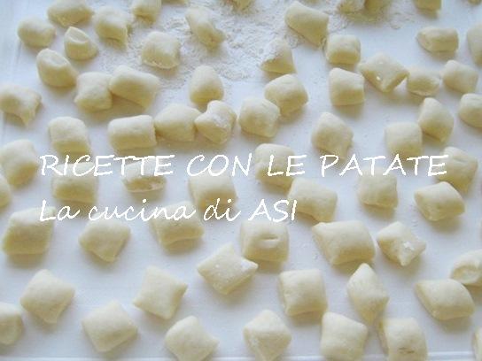 RACCOLTA RICETTE CON LE PATATE