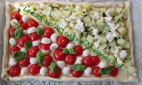 SFOGLIATA con  BASILICO Ricetta torta salata