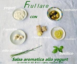 salsa aromatica allo yogurt La cucina di ASI