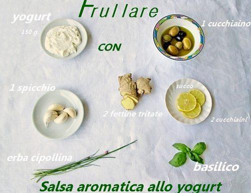 SALSA AROMATICA ALLO YOGURT Ricetta condimento